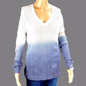 Tommy Bahama Ombre Sweater Wool Blend Size Small